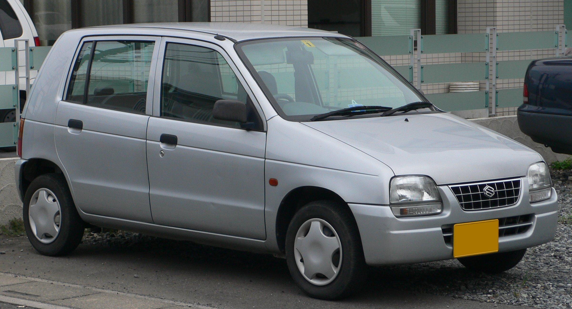 File 1997 Suzuki Alto 01 Jpg Wikimedia Commons