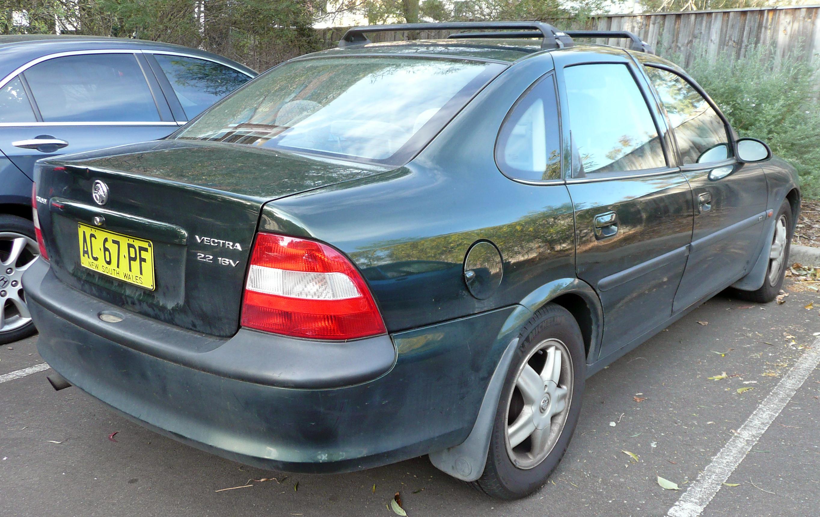 File:1999 Holden Vectra (JS) CD sedan (2009-08-29