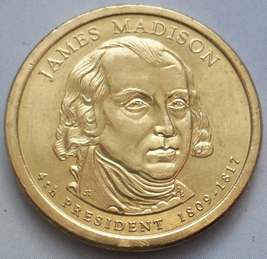 1 dollar James Madison