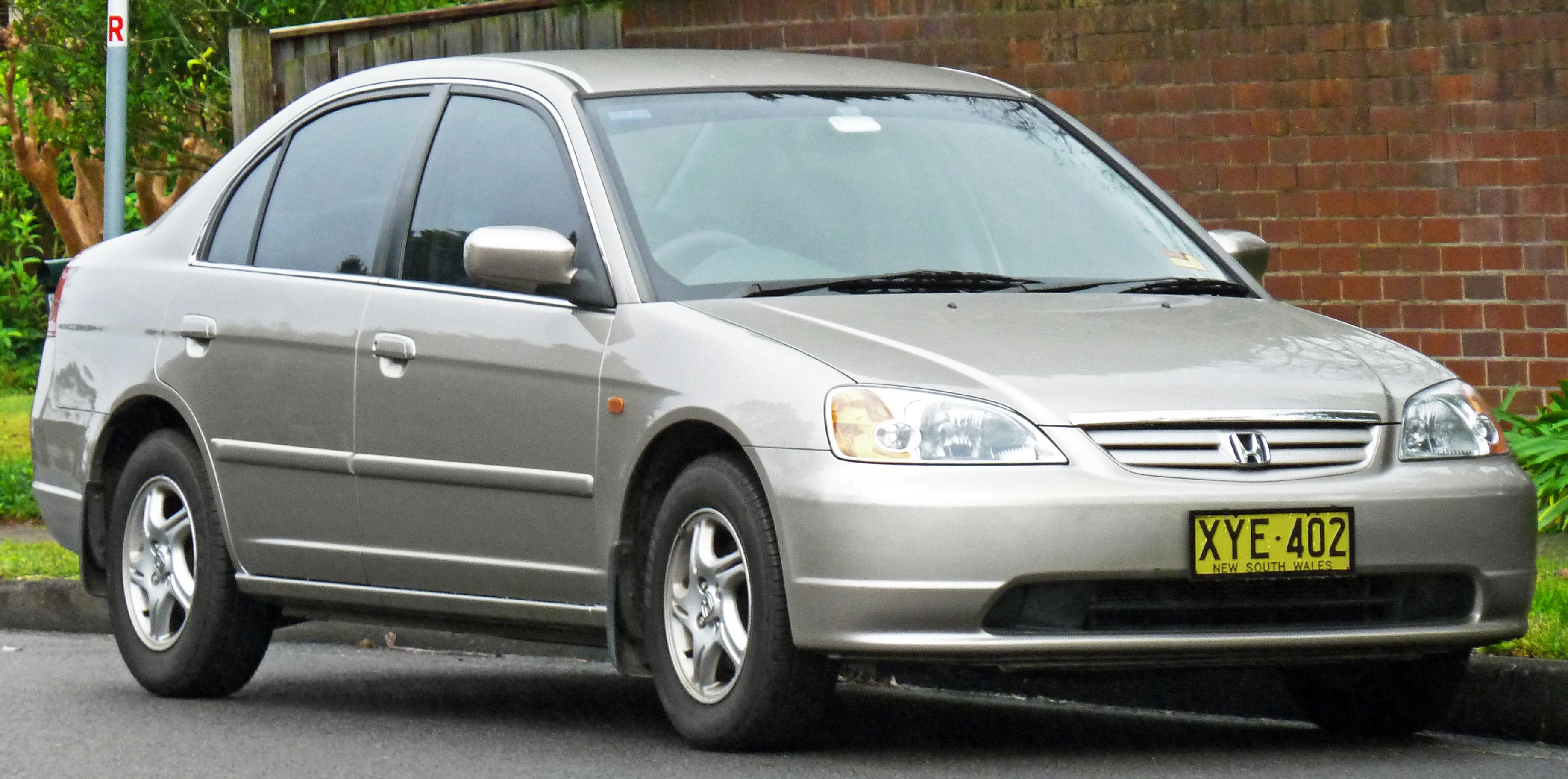 Хонда цивик 2002 фото