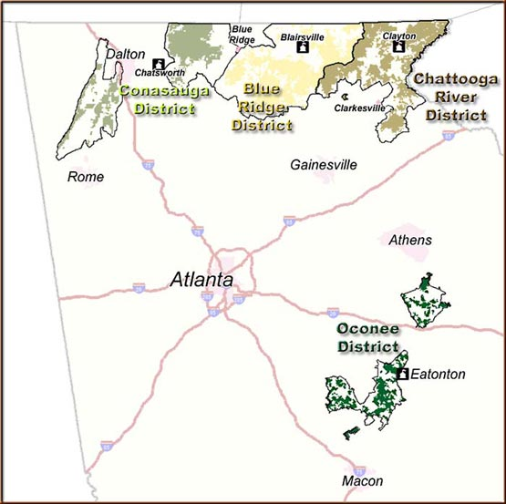 Chattahoochee Oconee National Forest Wikiwand
