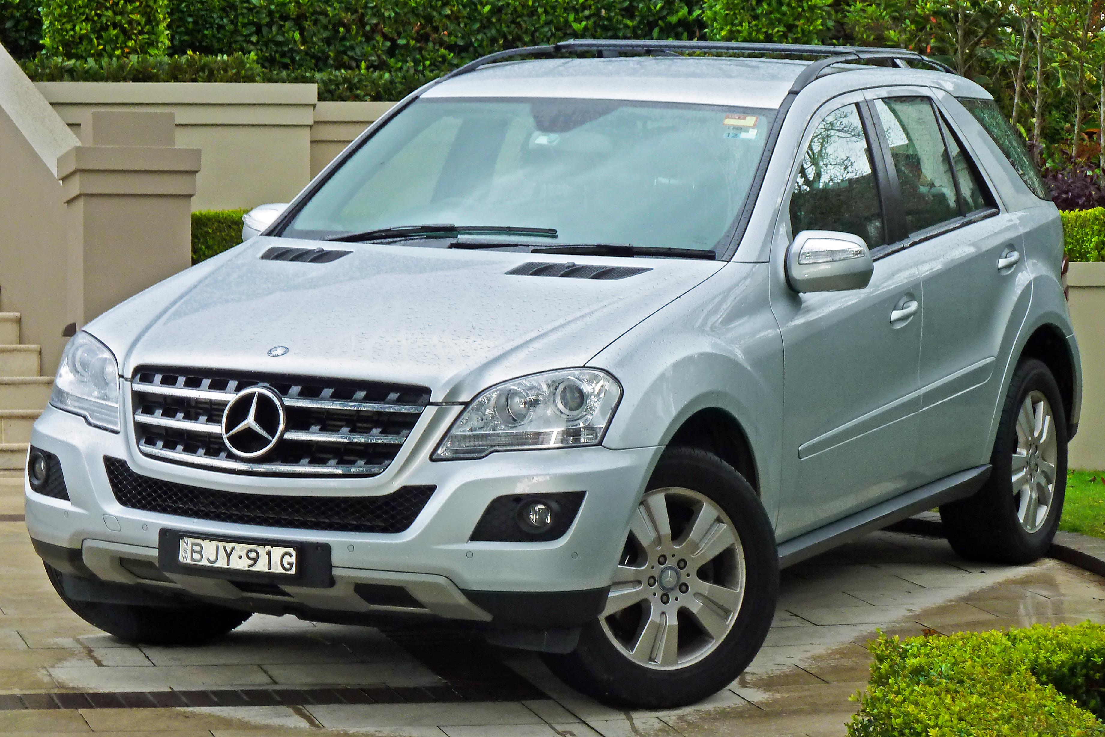File 2009 mercedes benz ml 280 cdi w 164 my09 wagon for Mercedes benz ml