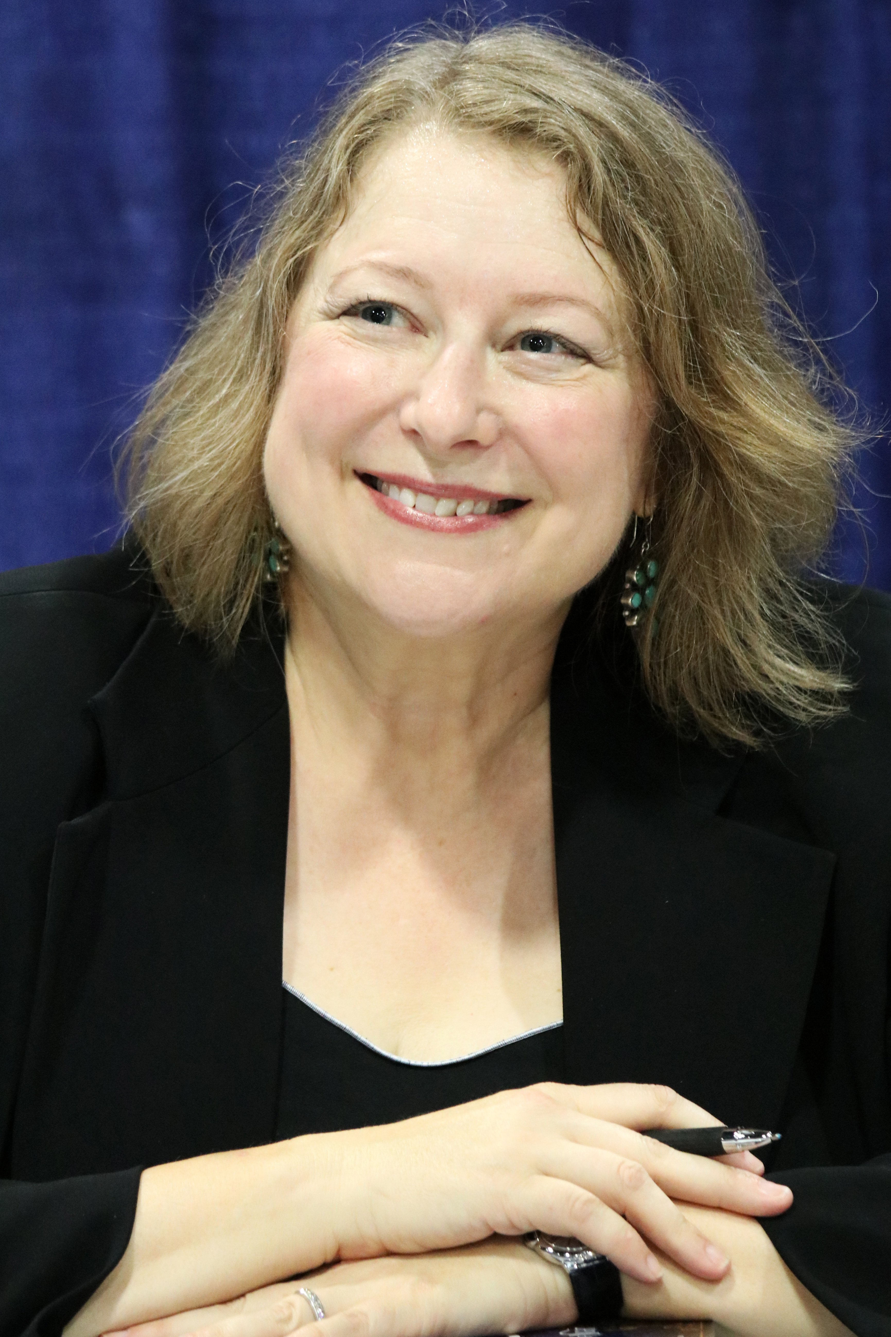 Harkness at the 2018 U.S. [[National Book Festival]]