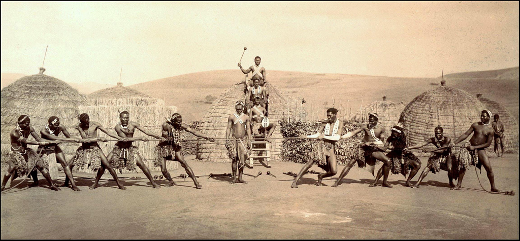 a description of the zulus in south africa South africa's violent road to real democracy  inkatha was initially formed in  1975 as a zulu cultural organization, operating with the anc's.