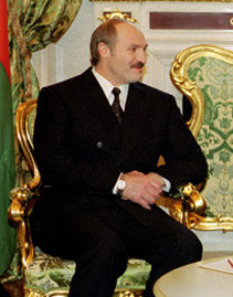English: President of Belarus Alexander Lukashenko