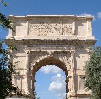 Arcos del triunfo romanos