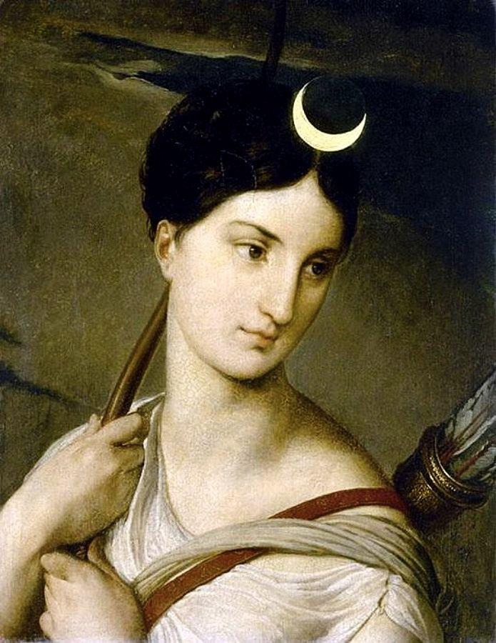 Диана, Римская Богиня Луны