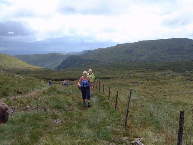 Ascending Aran Fawddwy - geograph.org.uk - 477631
