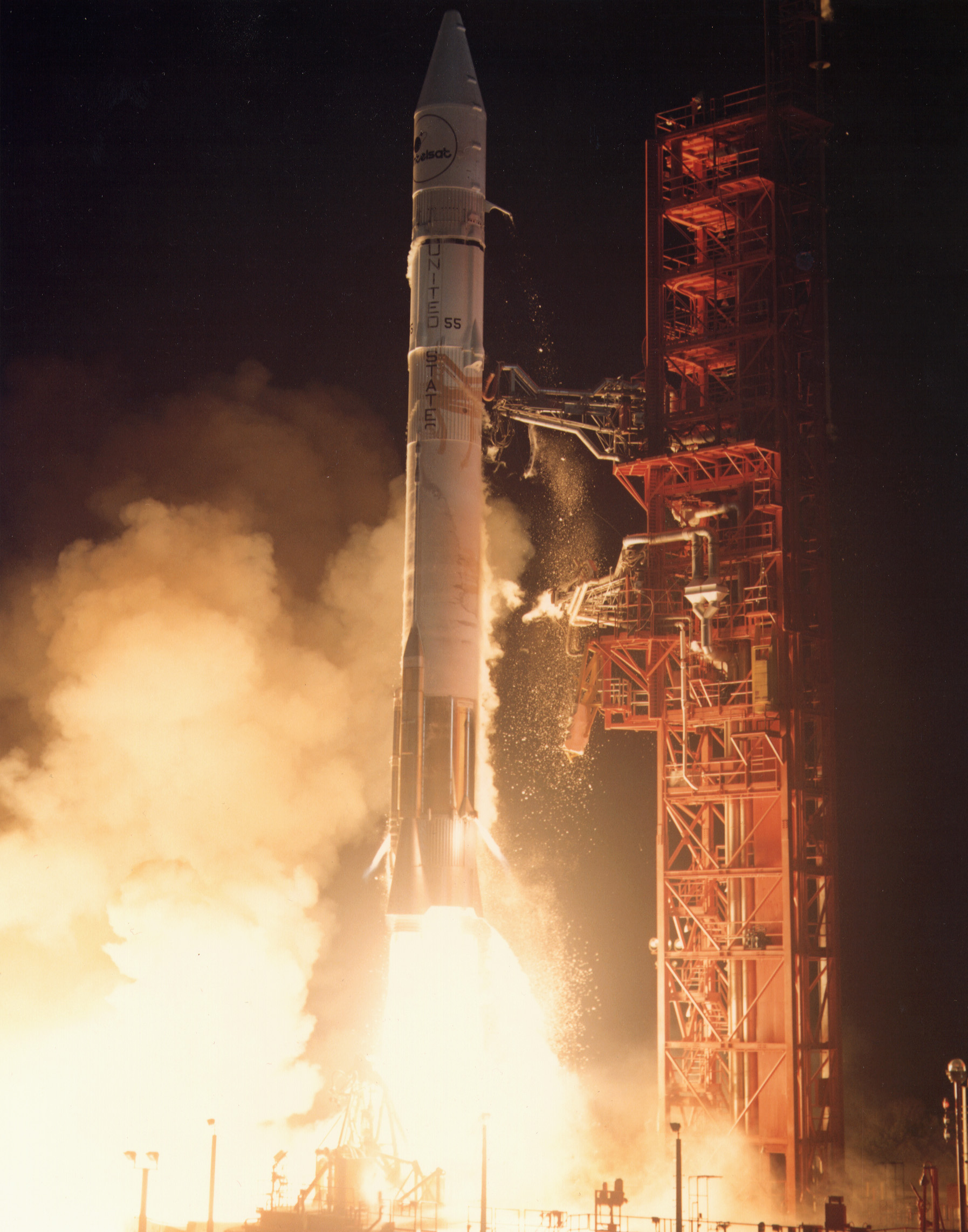 File Atlas Centaur Launches With One Intelsat V Satellite Jpg
