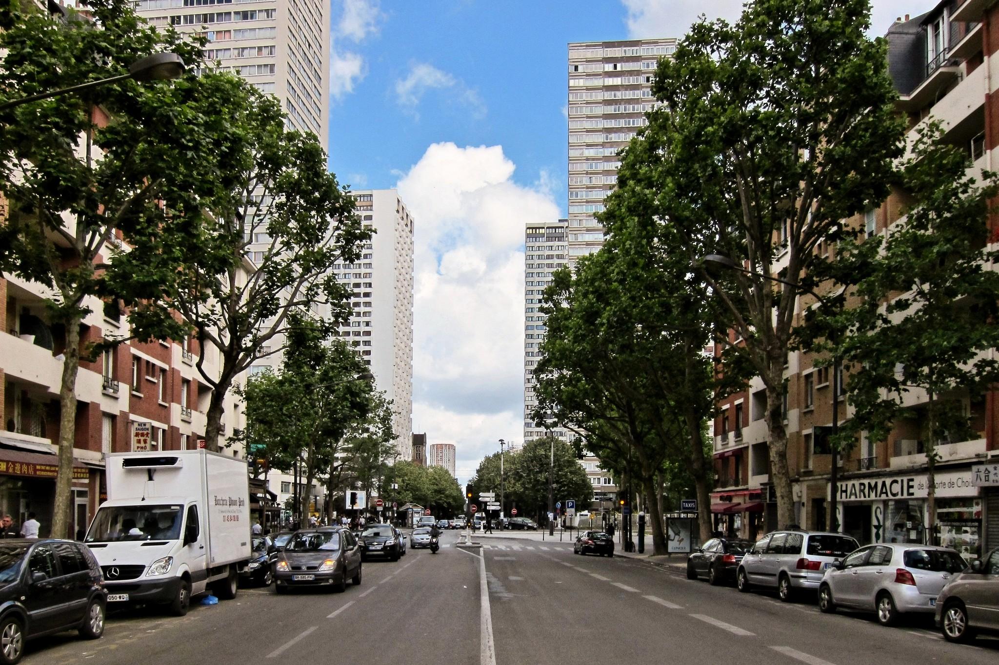 File avenue de la porte de choisy paris july - Avenue de la porte de montrouge ...