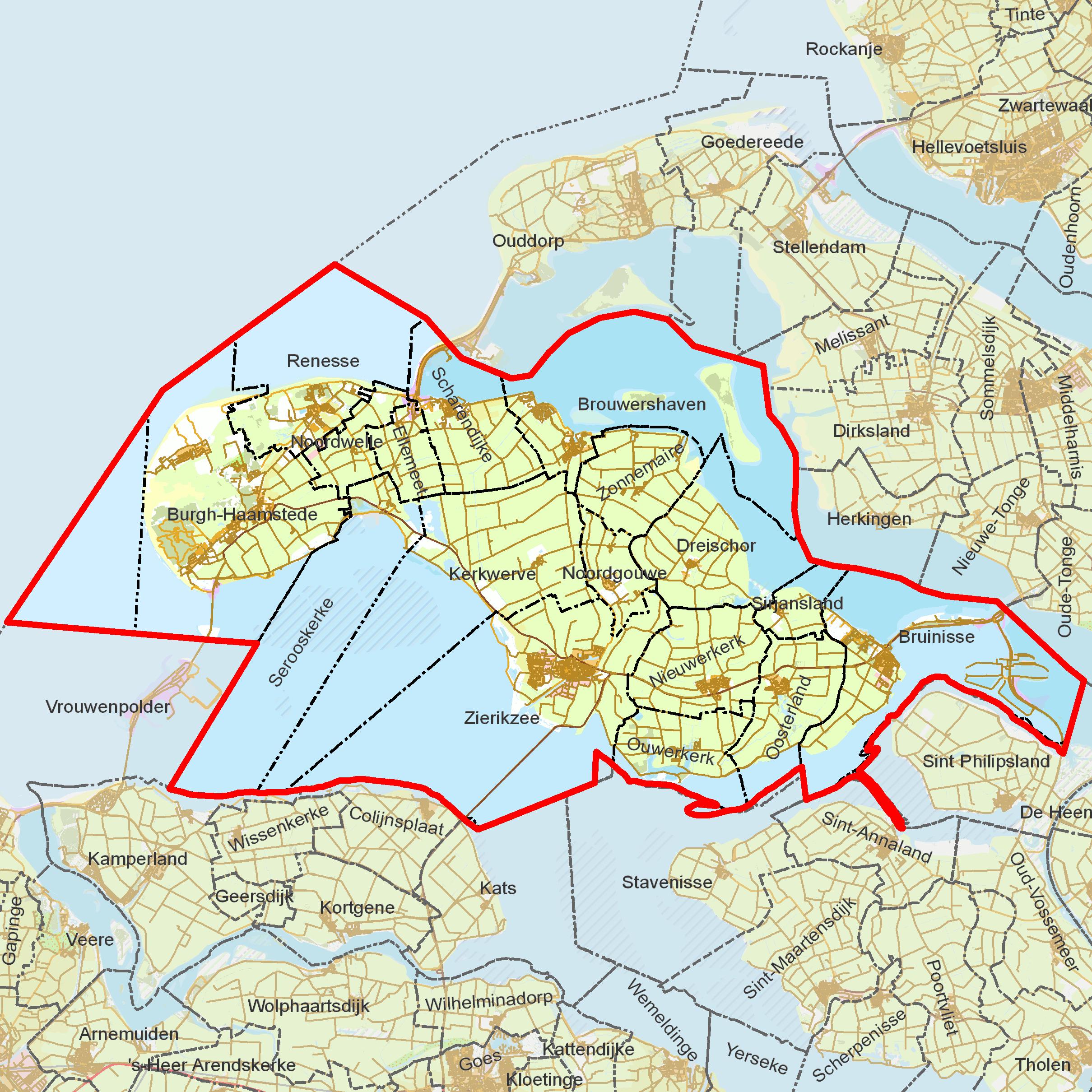 File BAG woonplaatsen   Gemeente Schouwen Duiveland png   Wikimedia Commons