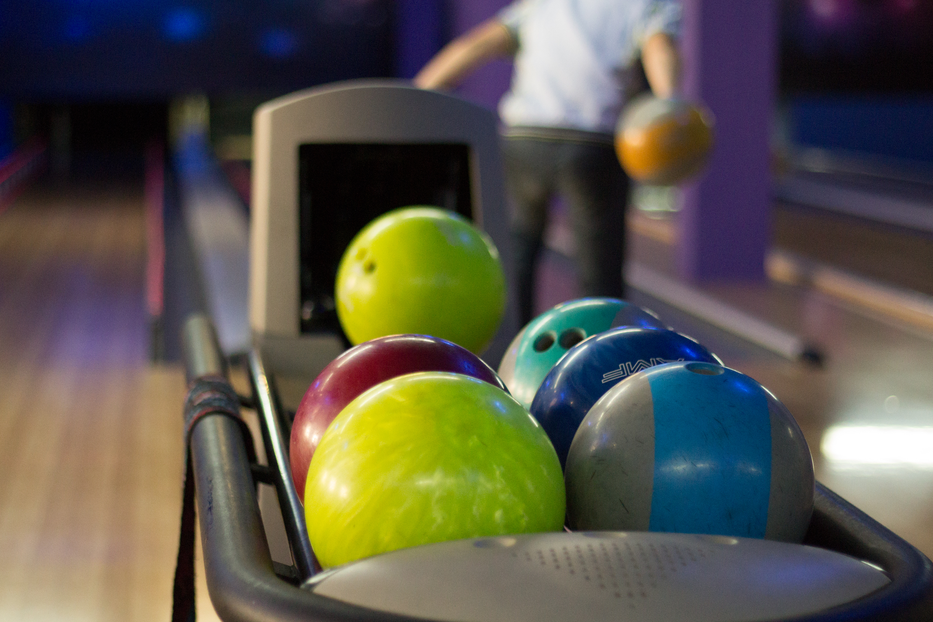 Bowling Ball And Shoes For Sale