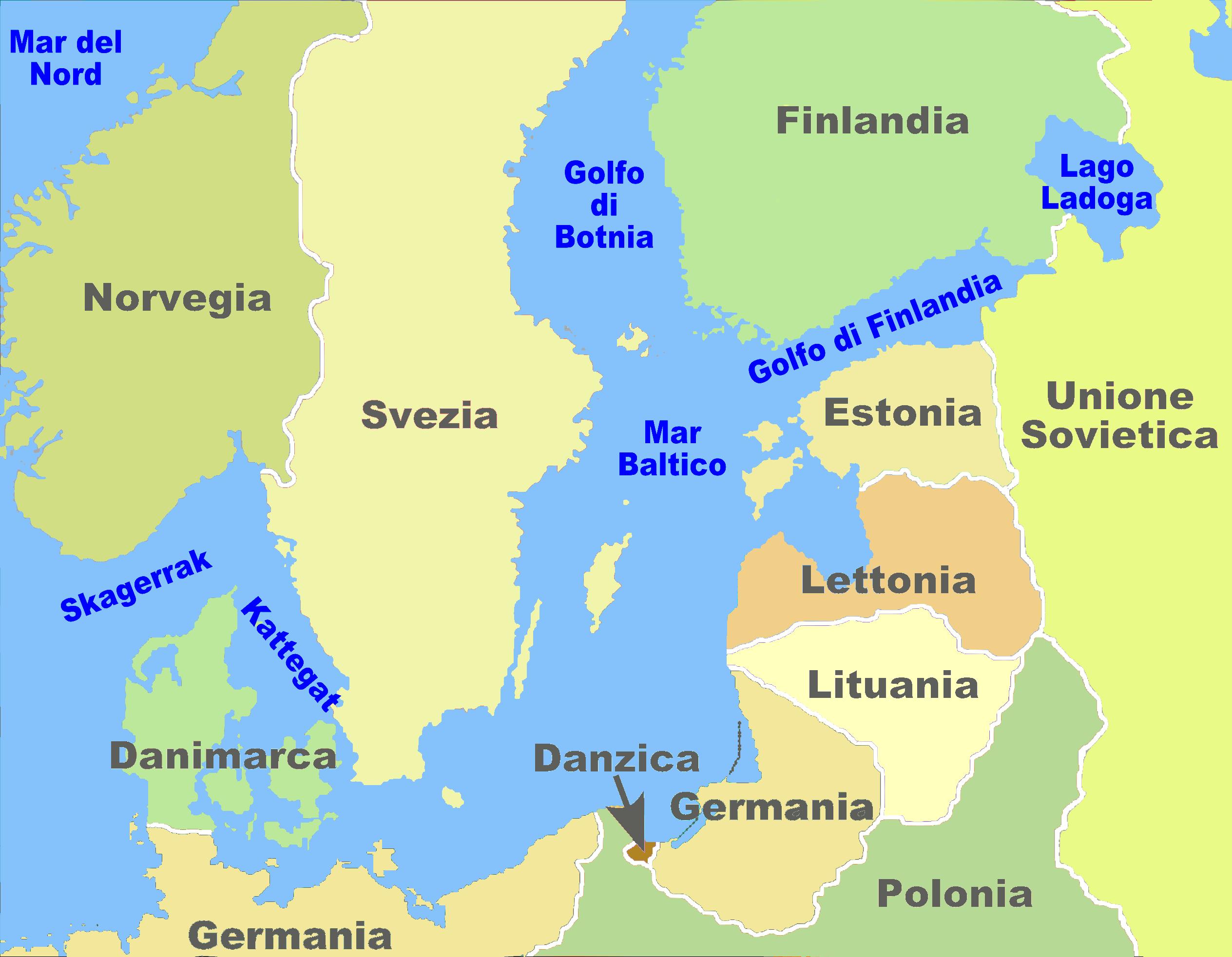 File baltic sea borderlines 1939 german for Can i work in germany with carta di soggiorno