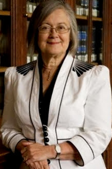 Portrait photograph of Brenda Hale