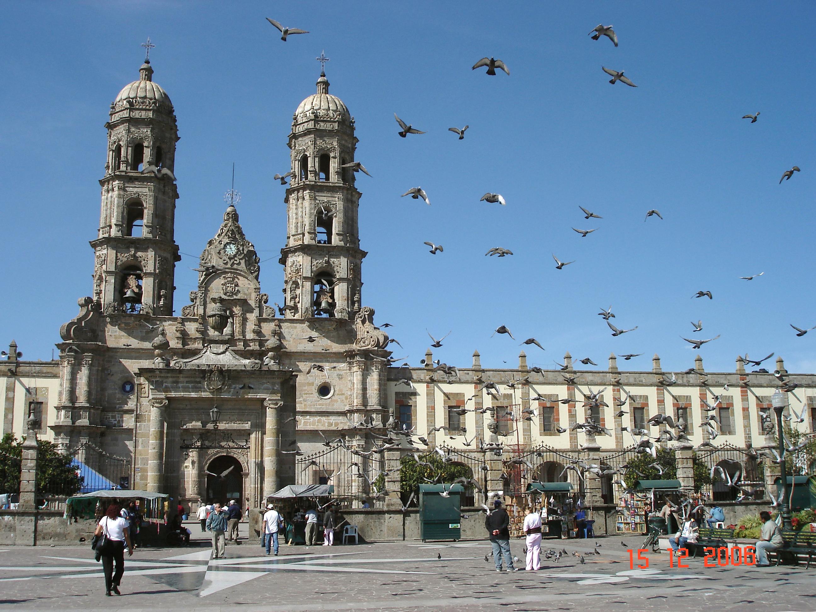 Basilica De Zapopan Jalisco Mexico