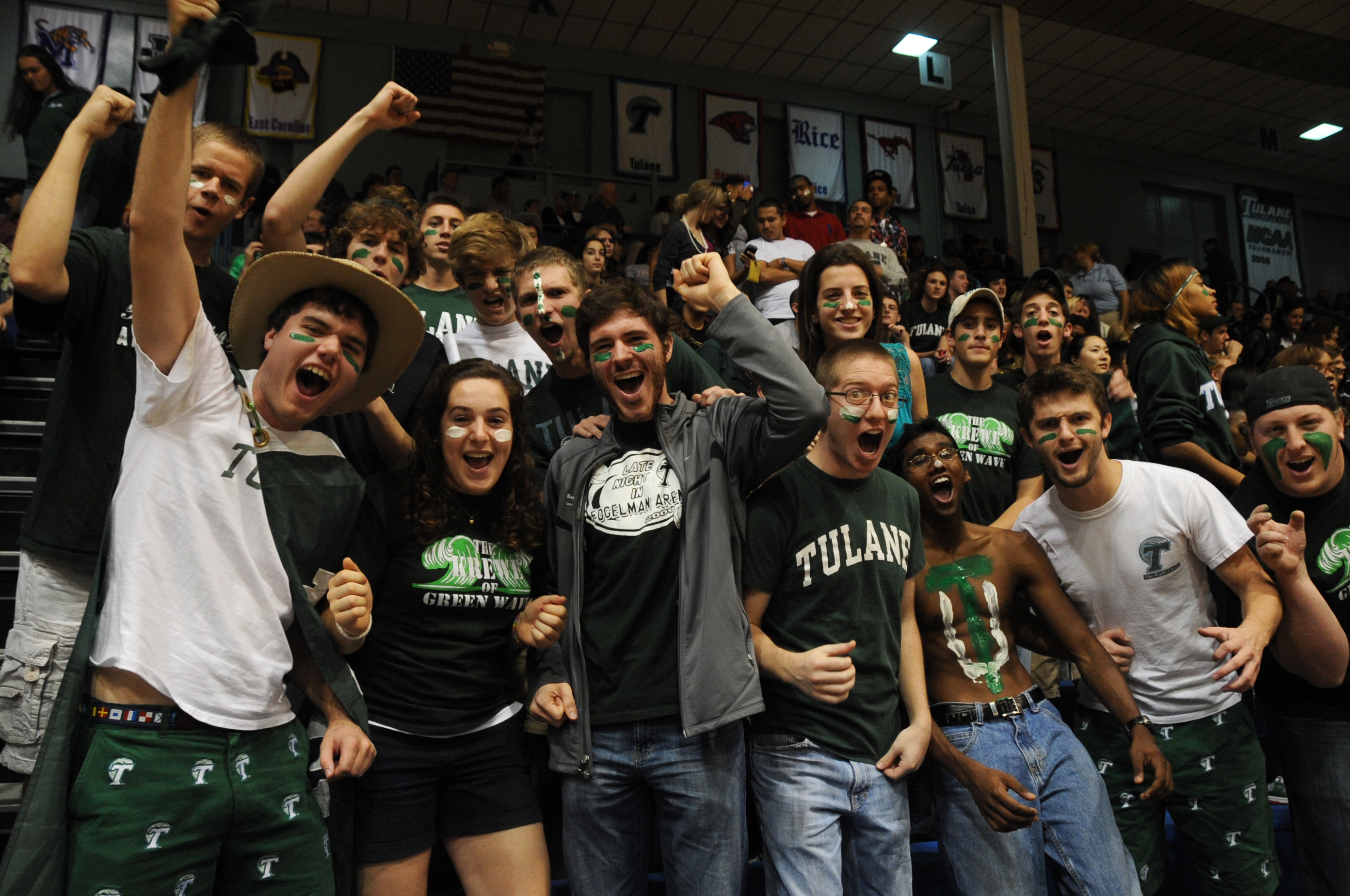 By Tulane Public Relations (Basketball Fans Uploaded by AlbertHerring) [CC BY 2.0 (http://creativecommons.org/licenses/by/2.0)], via Wikimedia Commons