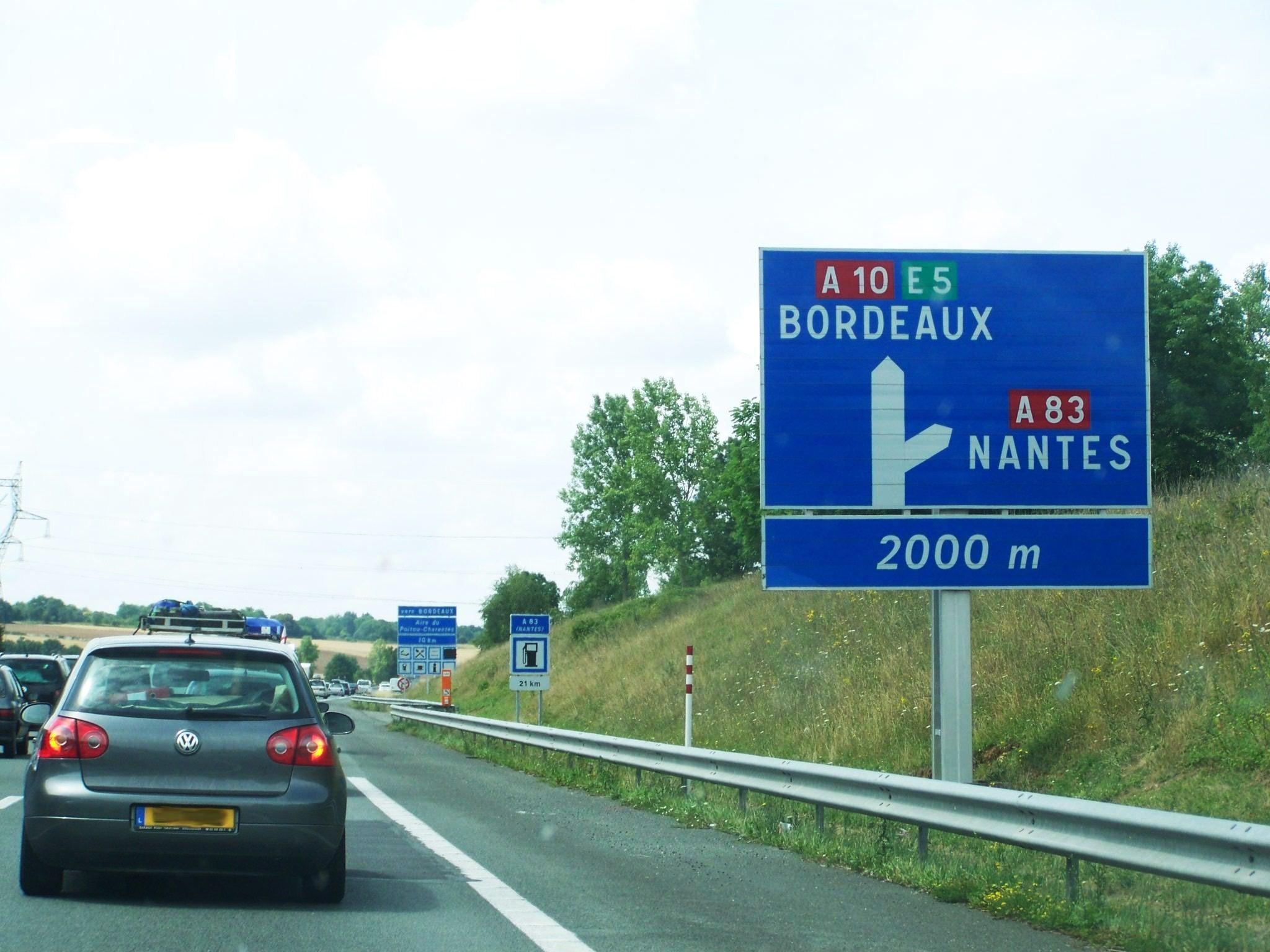 Autoroute Hotels France