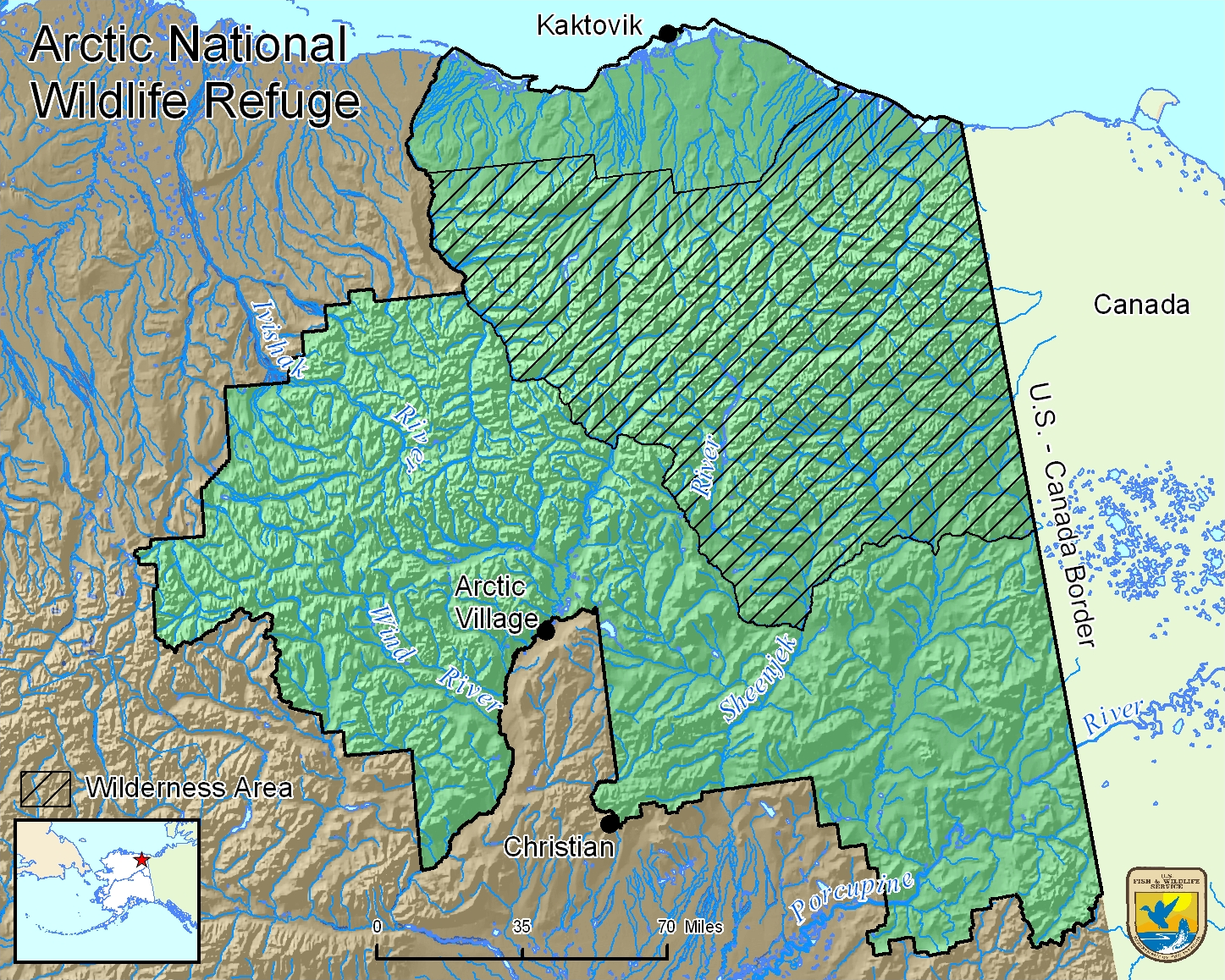 file boundary map arctic national wildlife refuge png