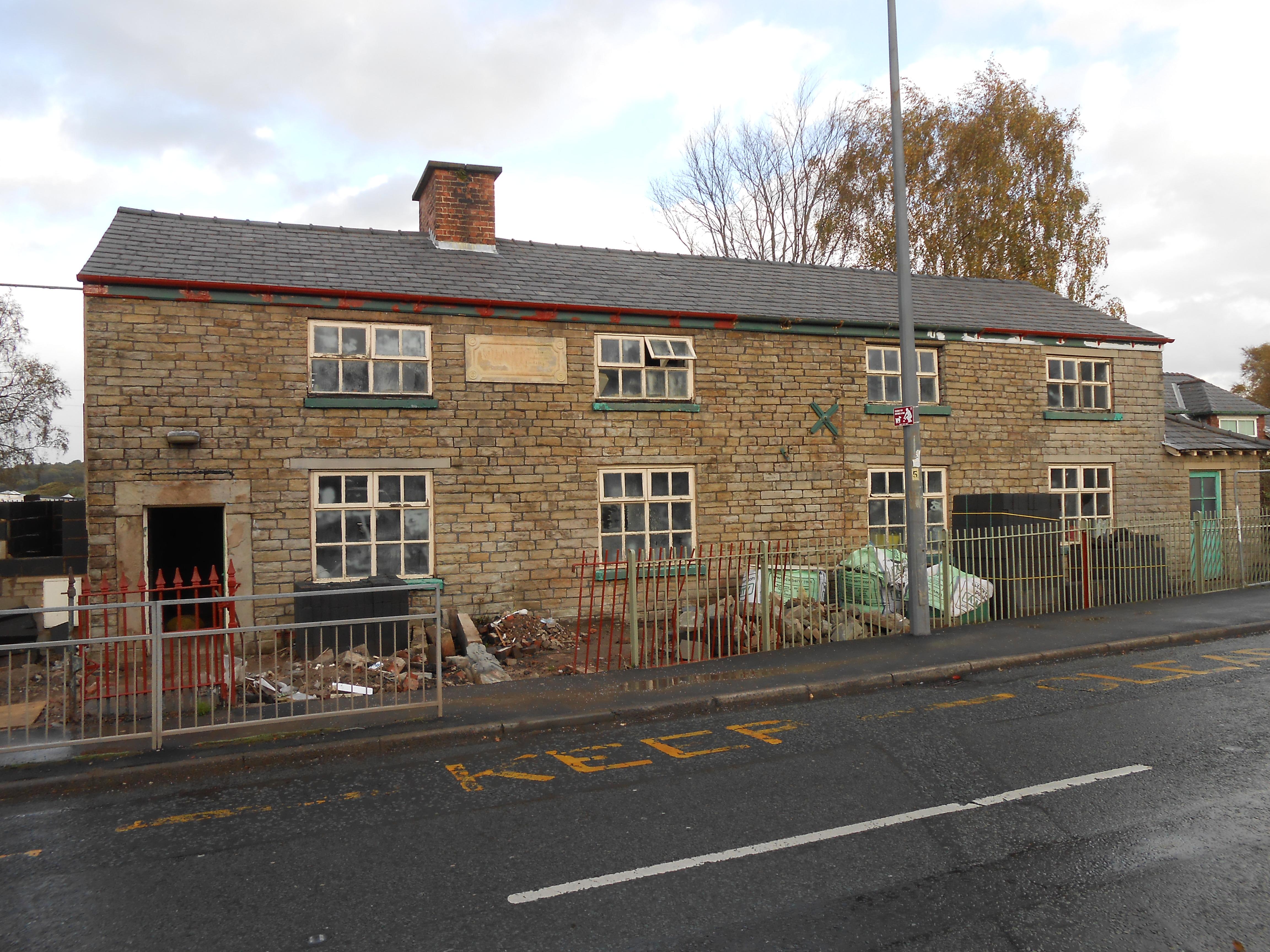 File building under renovation miles lane shevington jpg for Renovation wiki