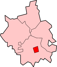 Cambridge shown within Cambridgeshire