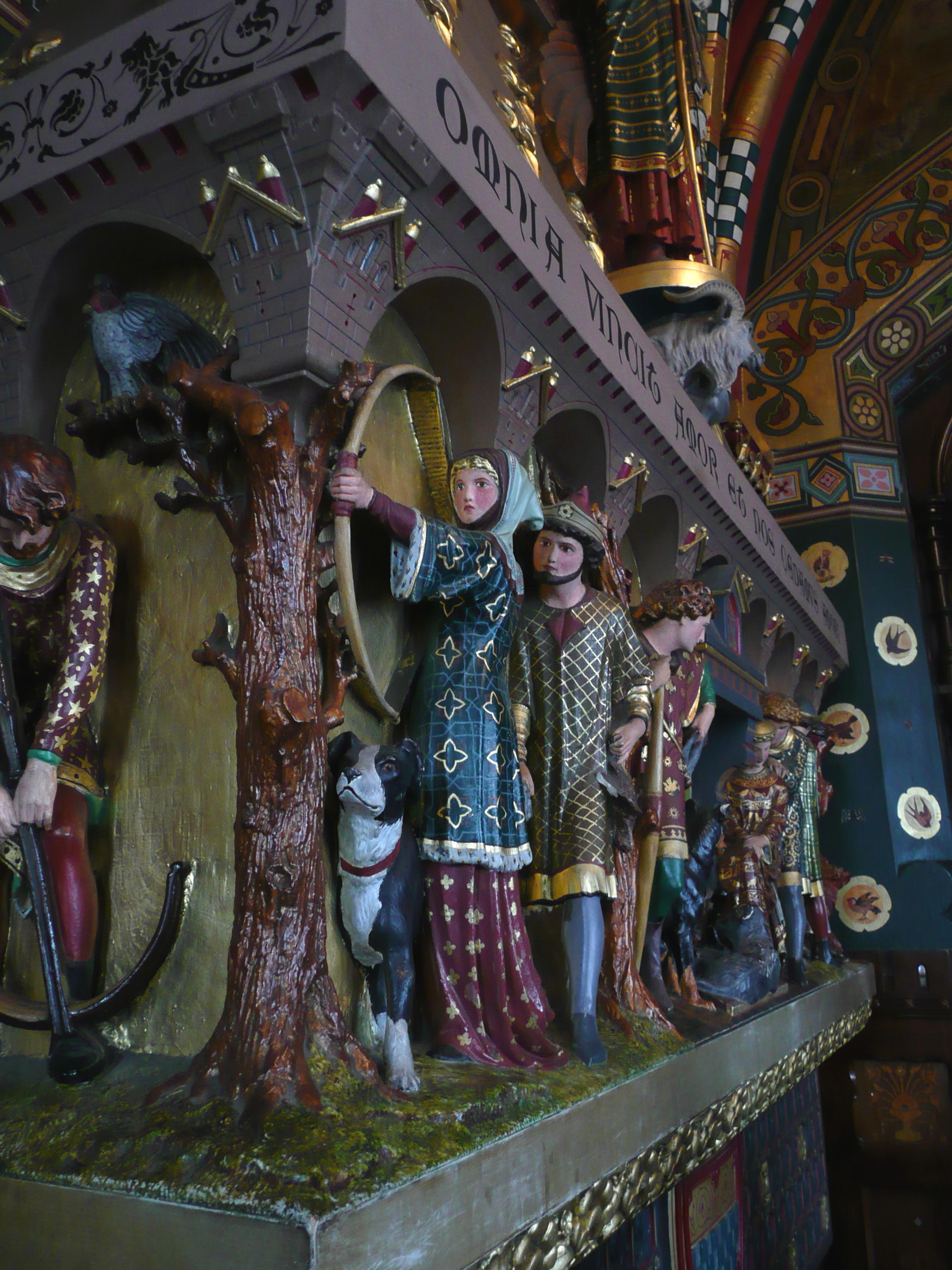 file:cardiff castle fireplace decoration - wikimedia commons