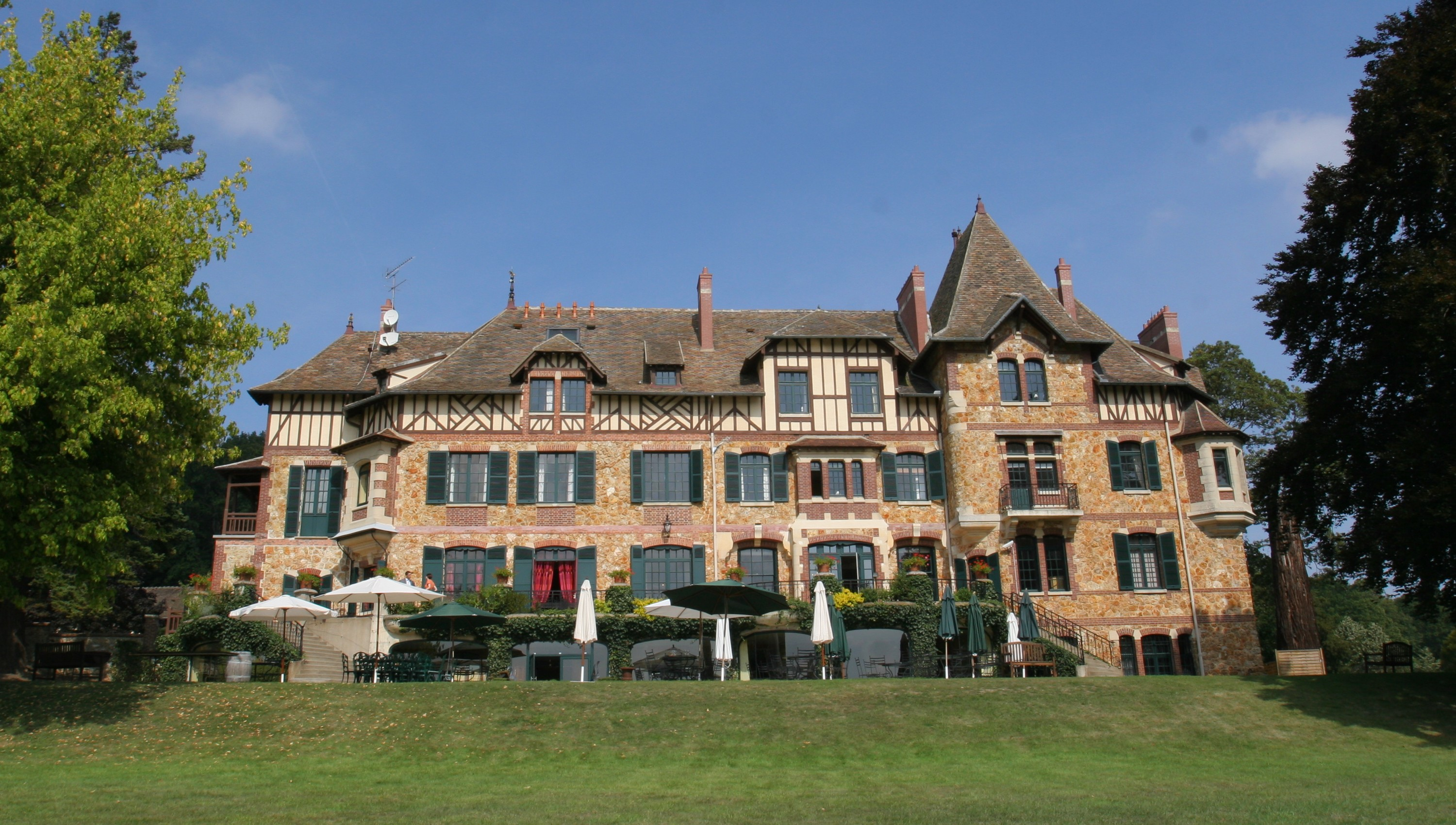 Ch teau de romainville yvelines wikiwand for Chateau yveline
