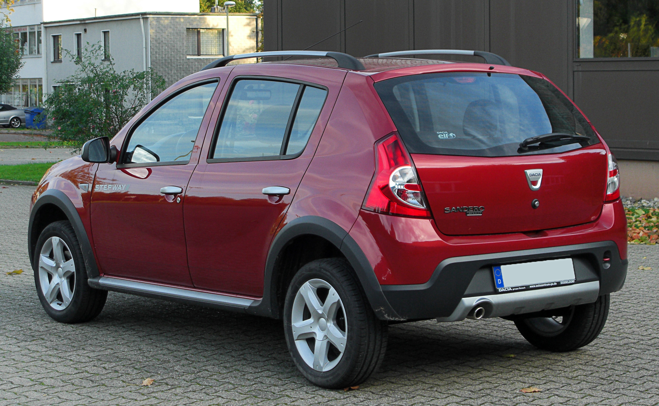 file dacia sandero stepway rear wikipedia. Black Bedroom Furniture Sets. Home Design Ideas