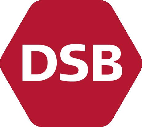 """Danske Statsbaner (DSB; deutsch """"Dänische Staatsbahnen"""")"""