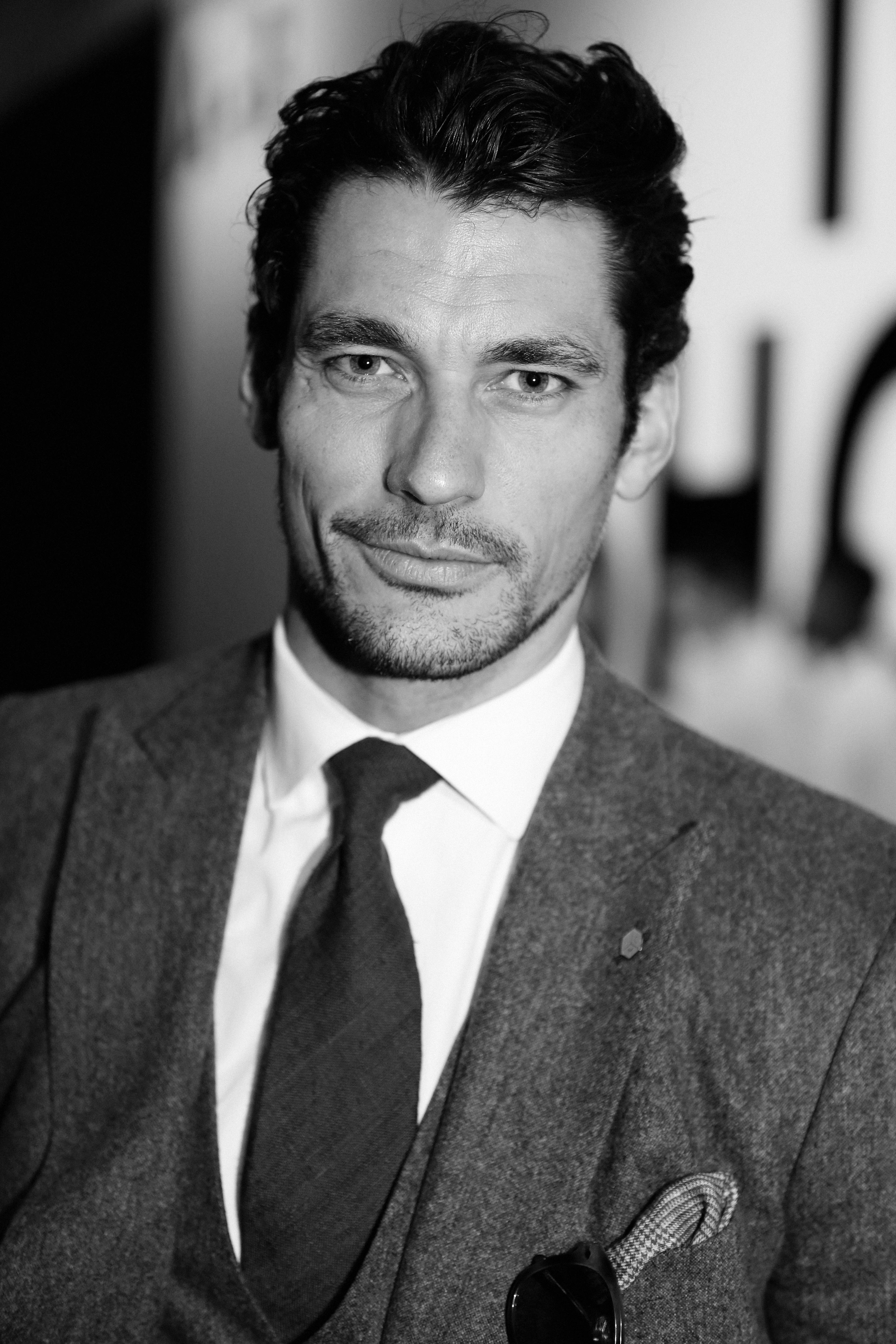 Who is david gandy dating now 2