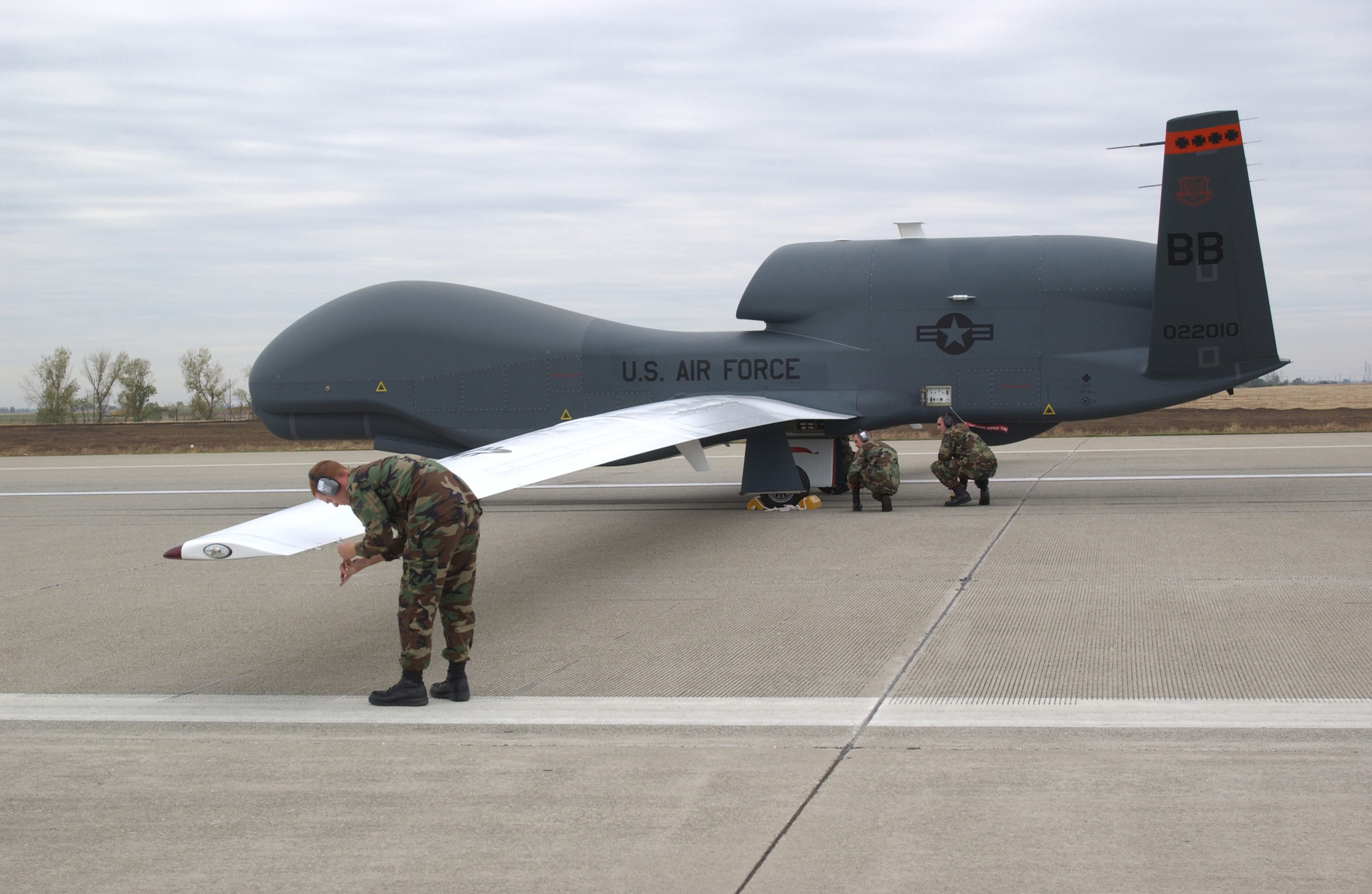 Hey Guise Check Out This Drone Painted To Look Like An American