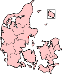 Location in Denmark