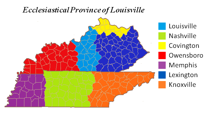 File:Ecclesiastical Province of Louisville map.png