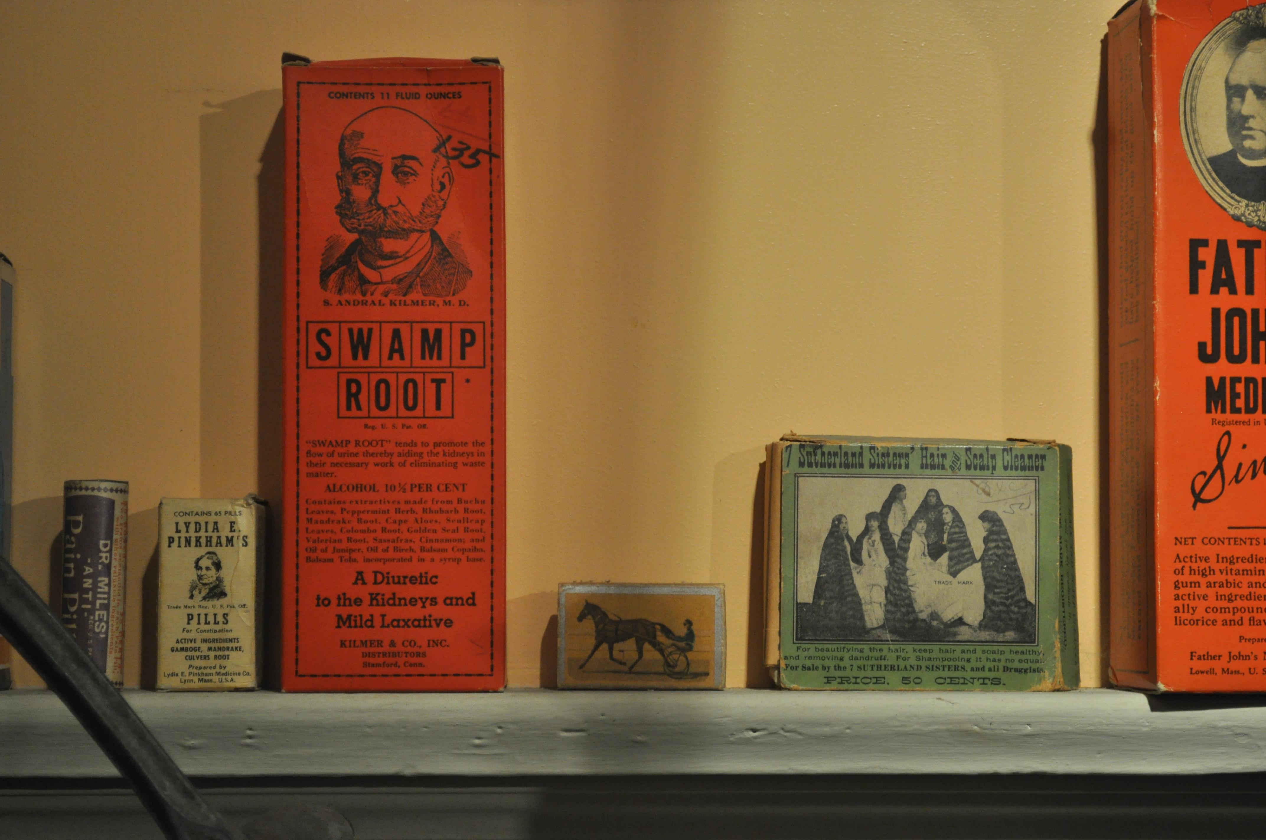File:Edmonds Historical Museum - patent medicine 04 jpg