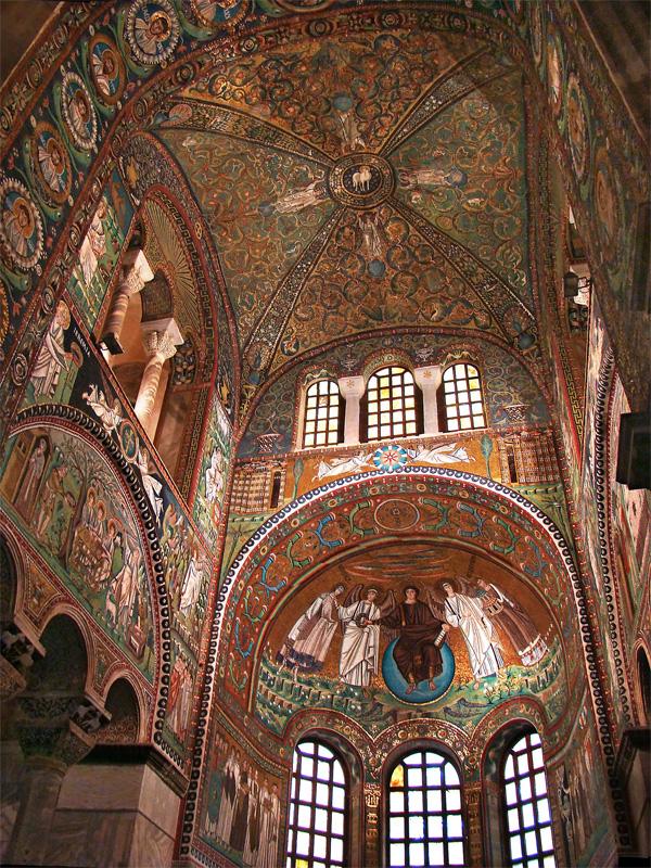 Mosaique de la basilique de San Vitale à Ravenne - Photo de Tango7174
