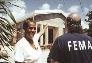 File:FEMA - 1146 - Project Impact principles - Hurricane-resistant roofing in St. Croix.jpg