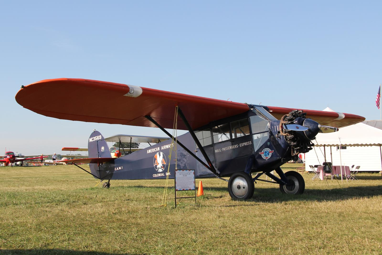 File Fairchild Fc 2 W2 Nc3569 Jpg Wikimedia Commons