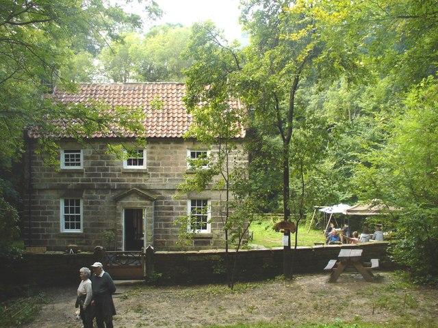 Falling Foss Tea Garden - Midge Hall - geograph.org.uk - 955453