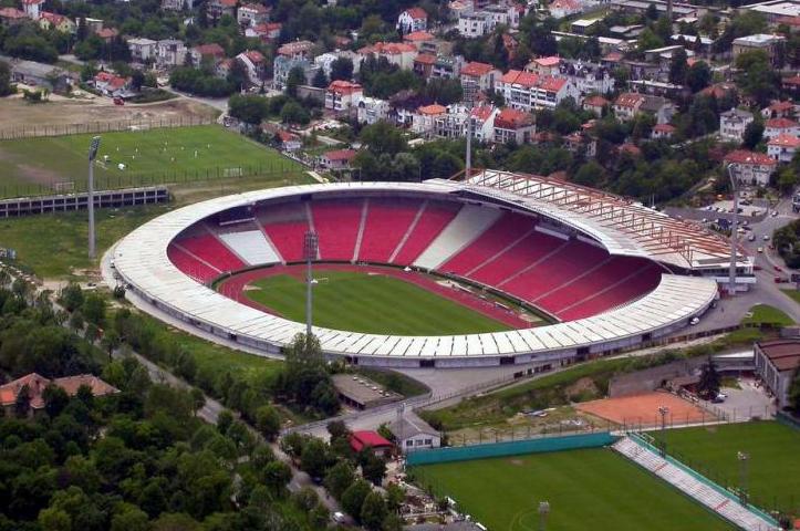 Depiction of Estadio Estrella Roja