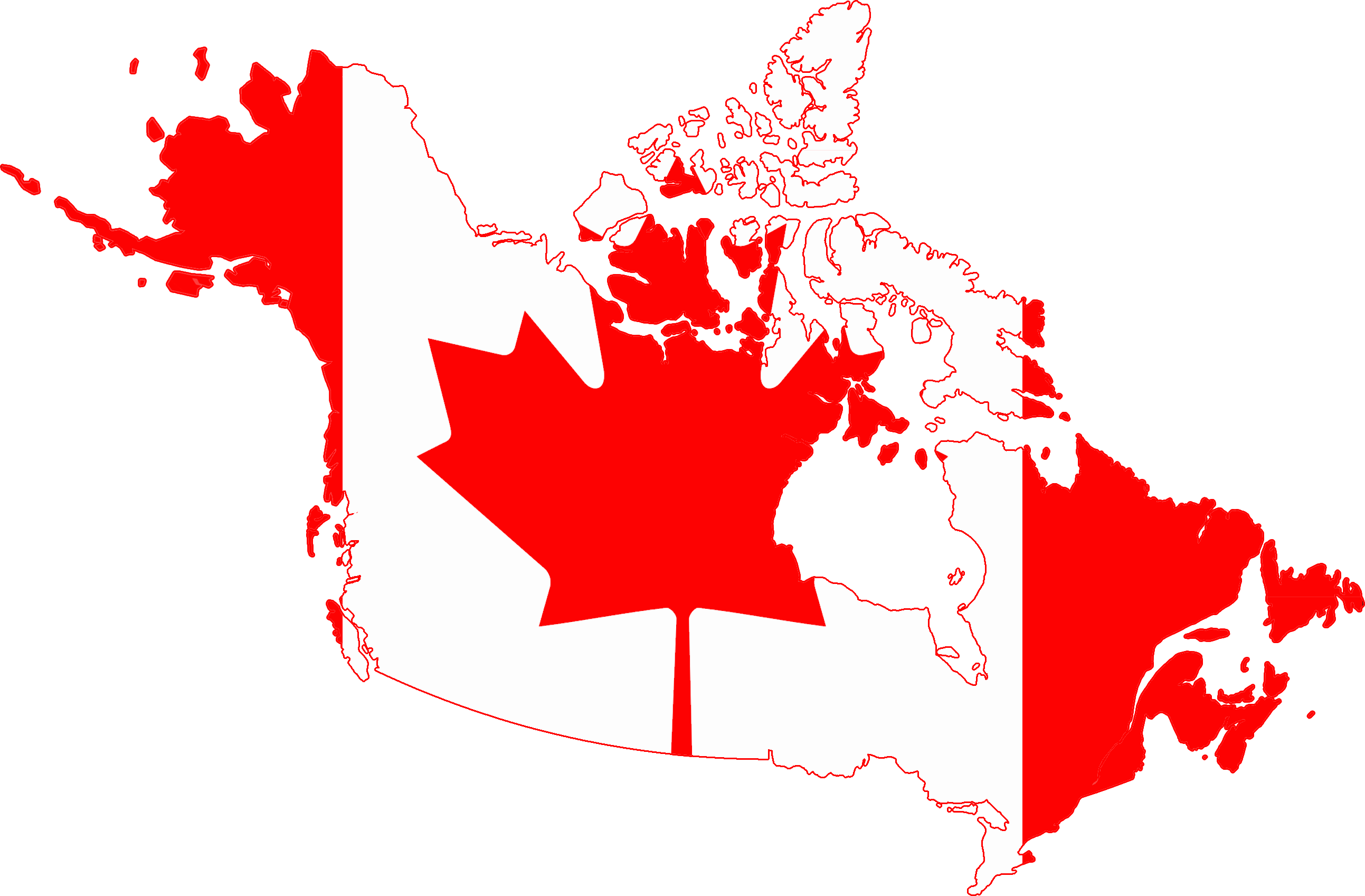 file flag map of greater canada png wikimedia commons