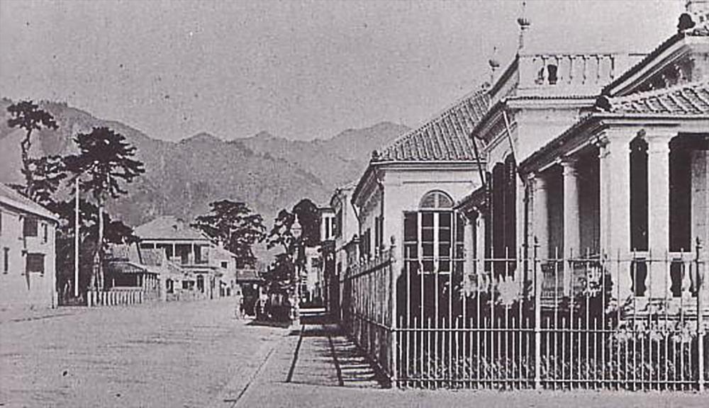 明治初期の神戸居留地/Wikipediaより引用