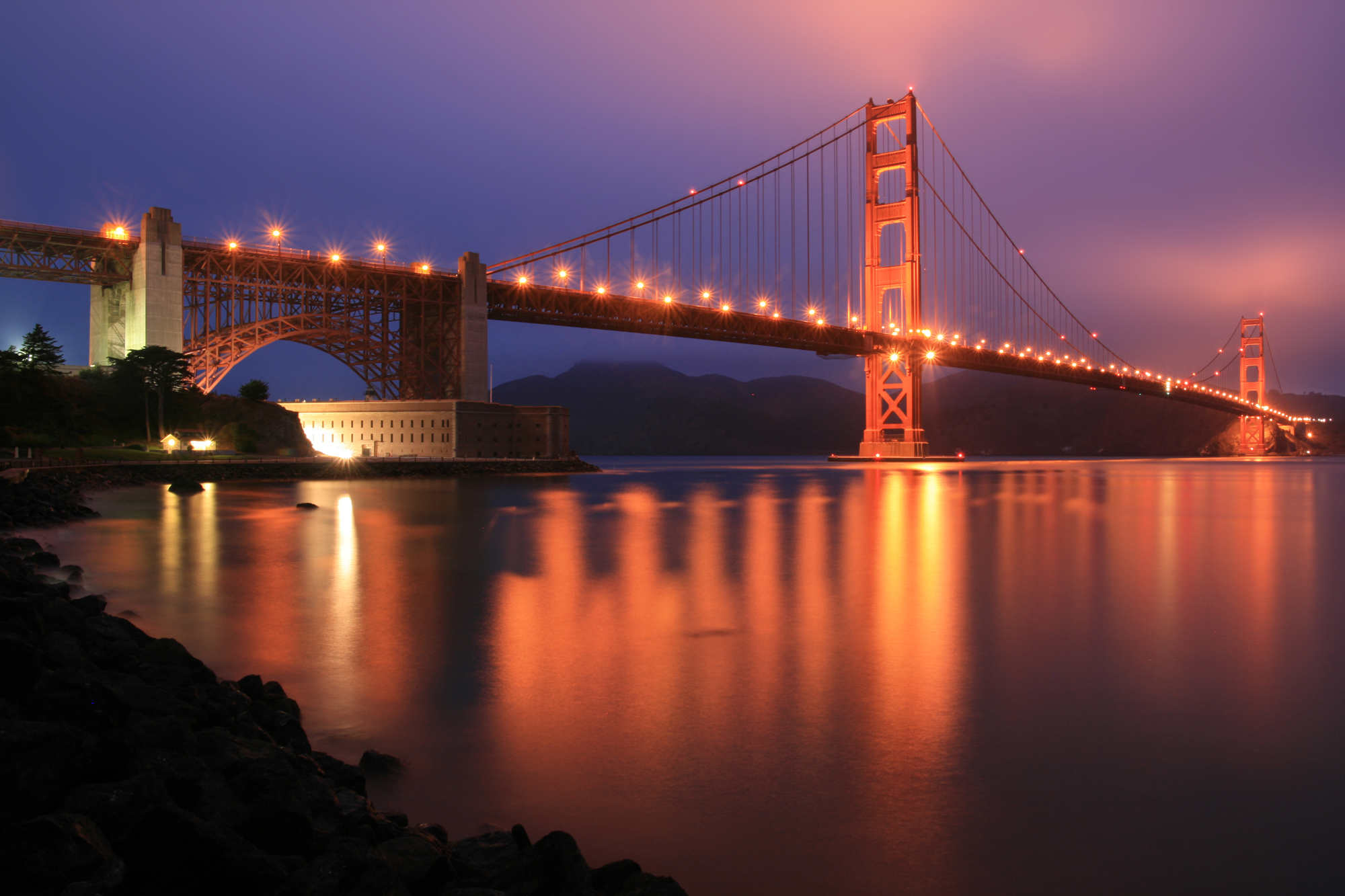 goldens bridge buddhist dating site Crossing under the iconic red towers of the 4,200-foot golden gate bridge,  experience  once a us army post and site of the world's fair, the presidio is    one of the museum's celebrated objects, the gilt bronze buddha dating to the  year.