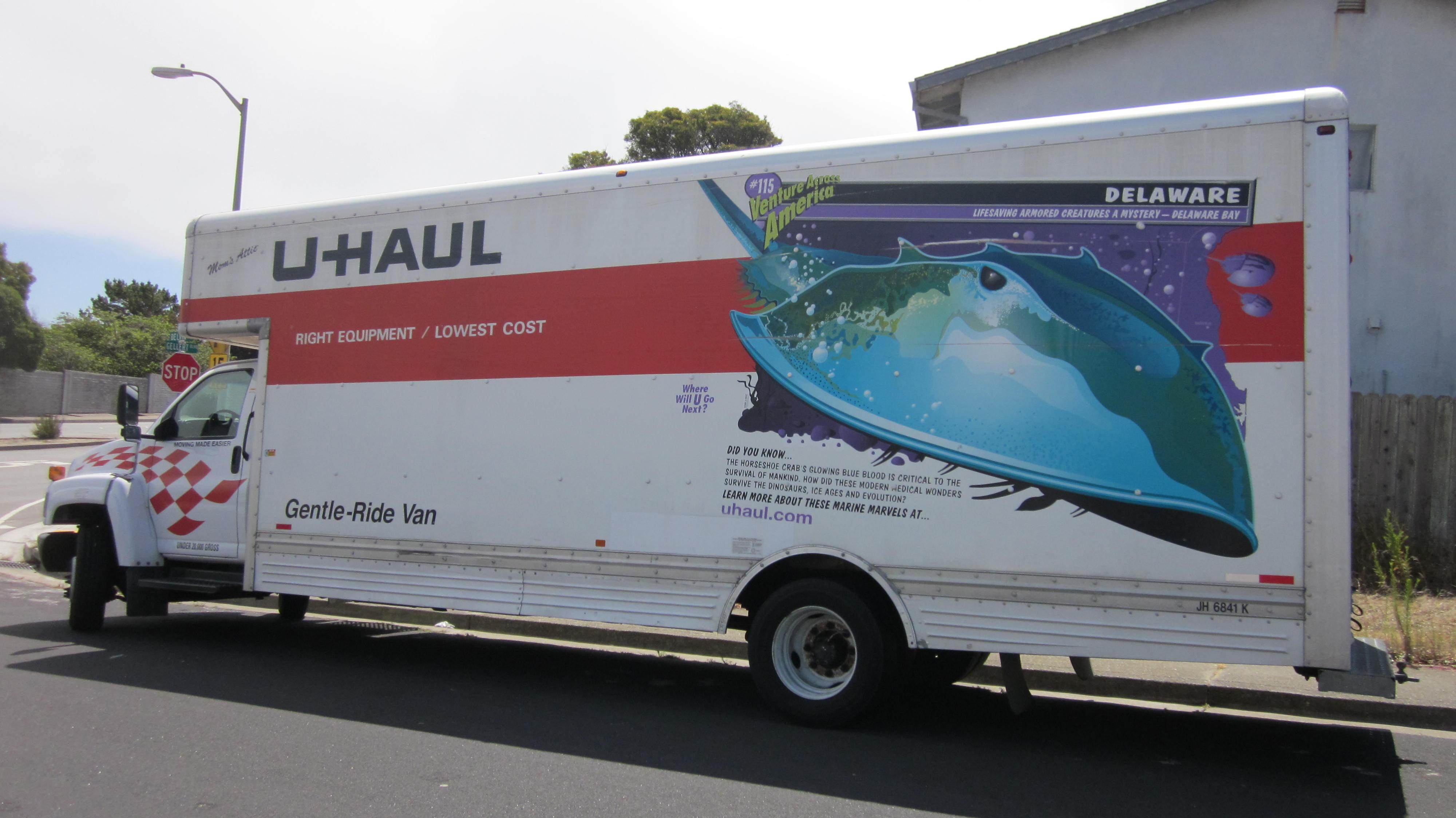 Uhaul Truck S Filegmc U Haul Truck Front Sidejpg Wikimedia Commons