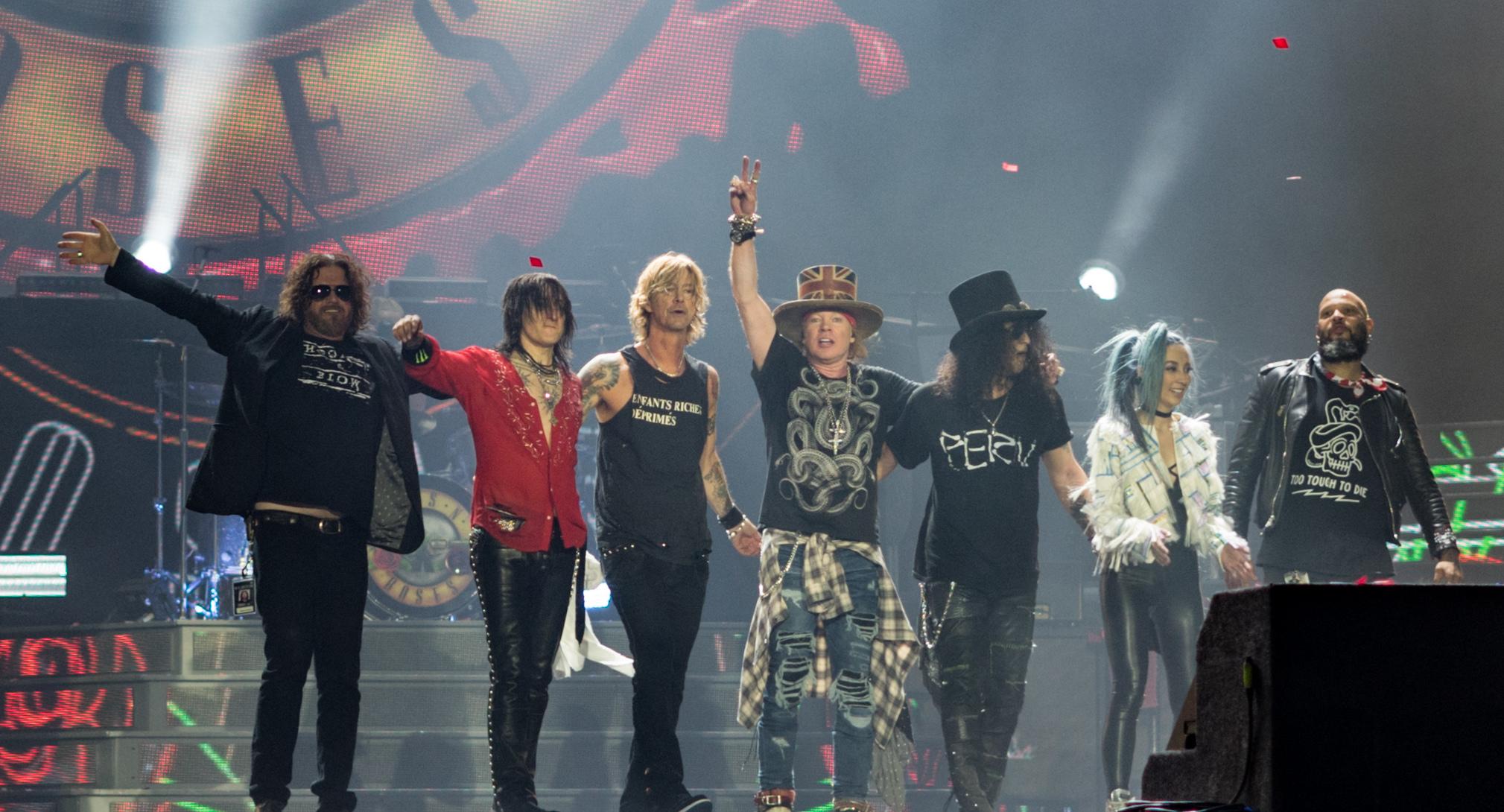 /Limited Edition CD Platinum Disc/ /Appetite For Destruction Century Music Awards Guns N Roses/