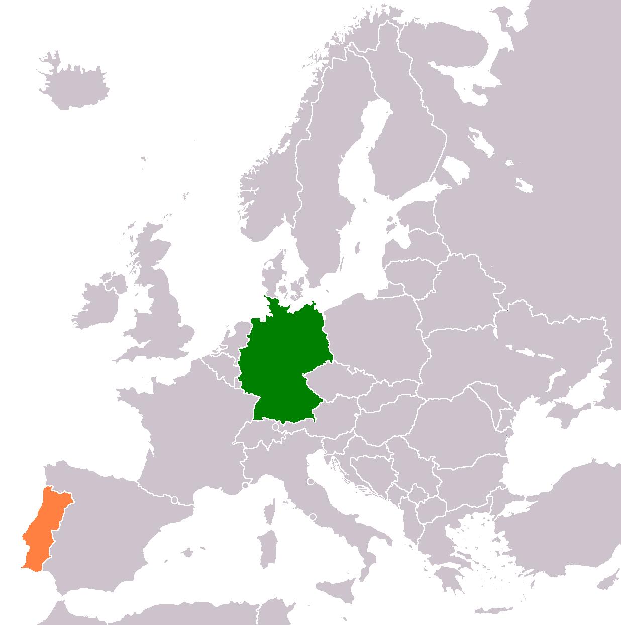 Deutsch Portugiesische Beziehungen Wikipedia