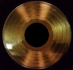 English: gold record (for future use in riaa g...