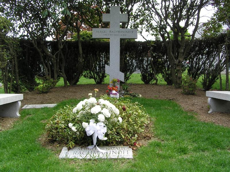 Grave of Sergei Rachmaninoff