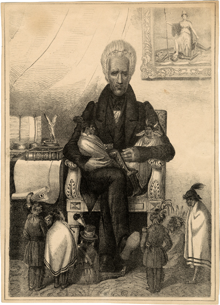 Andrew Jackson Painting White House