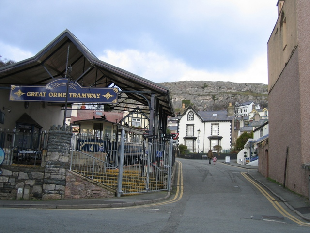 Great Orme Tramway Terminus - geograph.org.uk - 339527