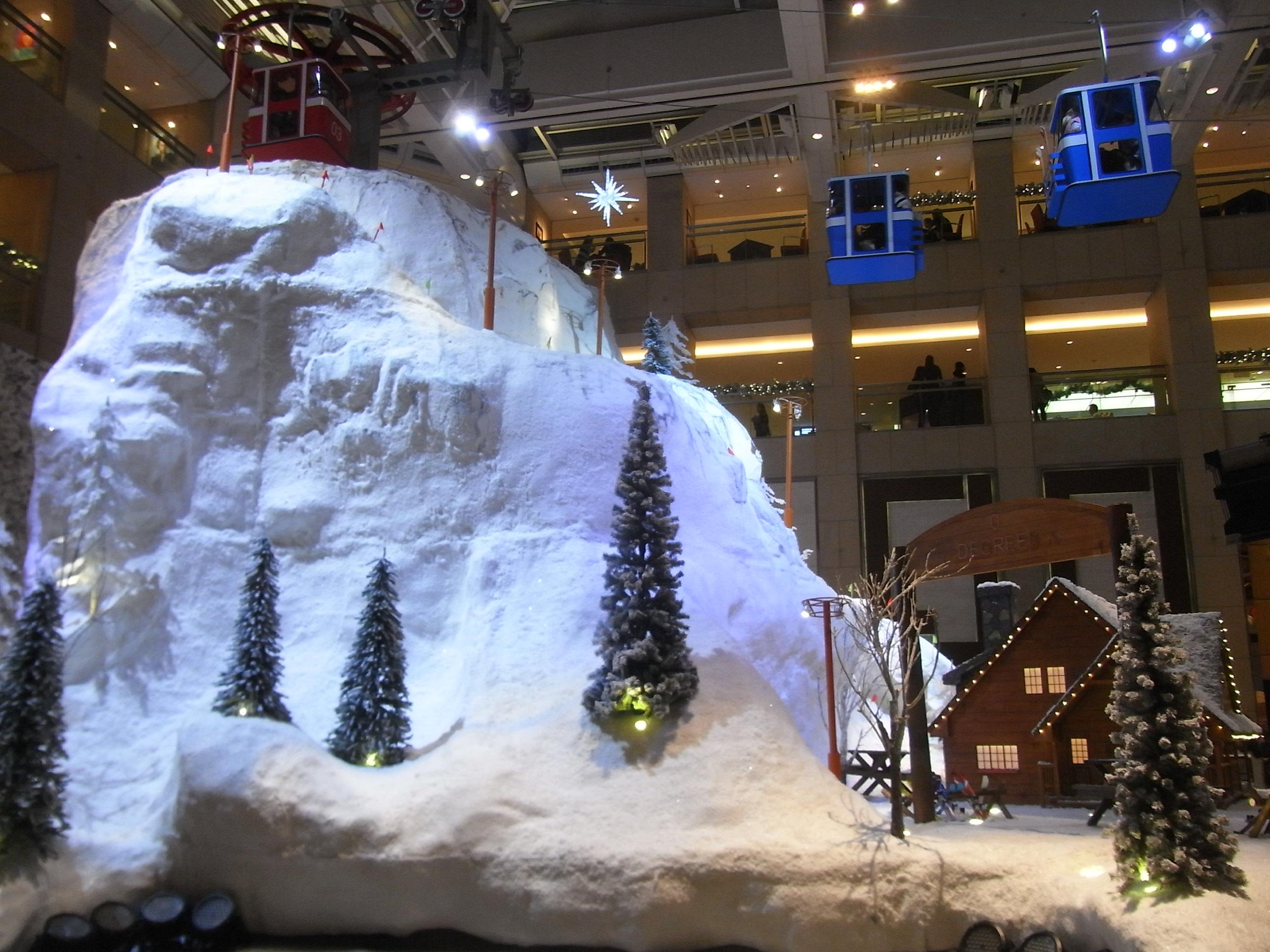 File Hk Central Landmark Mall Interior Evening 08 Christmas