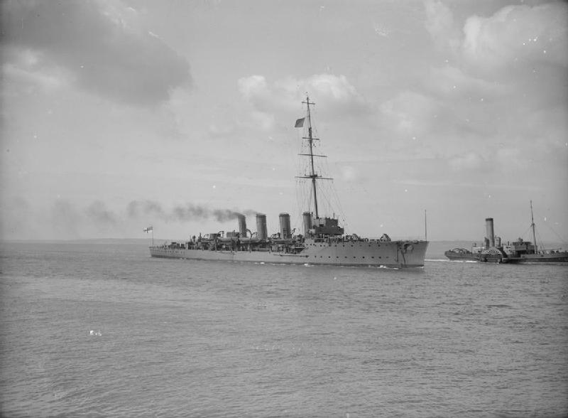 HMS Fearless in 1913